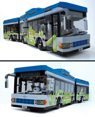 LEGO Veeborg Articulated Bus