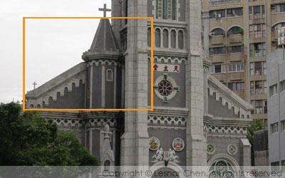 玫瑰聖母主教座堂-飛扶壁