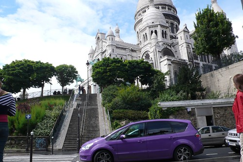 The Joneses visit Montmartre