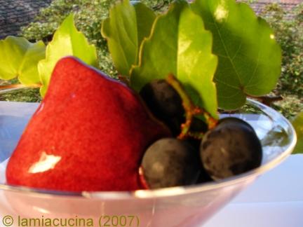Sorbetto di uva americana