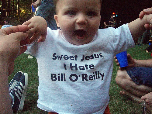 I hate Bill O'Reilly