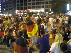 Fussball-WM Fans in Frankfurt - 10