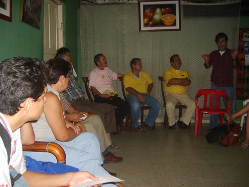 Barrio La Libertad, intervención del candidato José Jairo