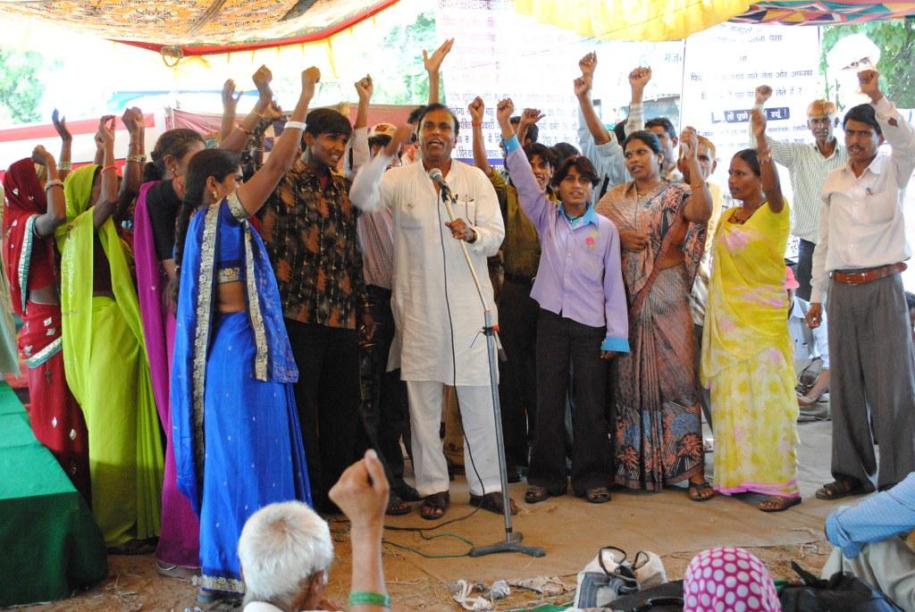 Pics from the satyagraha - 2 Oct 2010 - 31