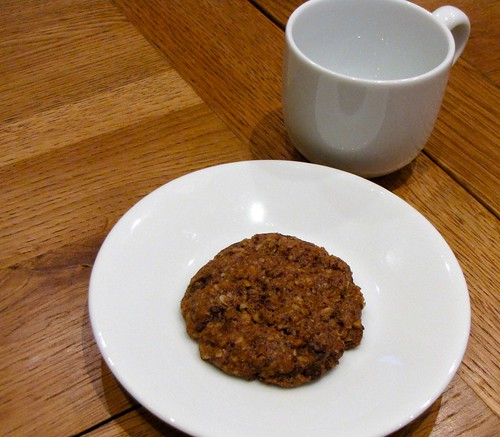 Mini chocolate walnut cookie on Flickr