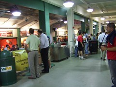 inside Fenway Park