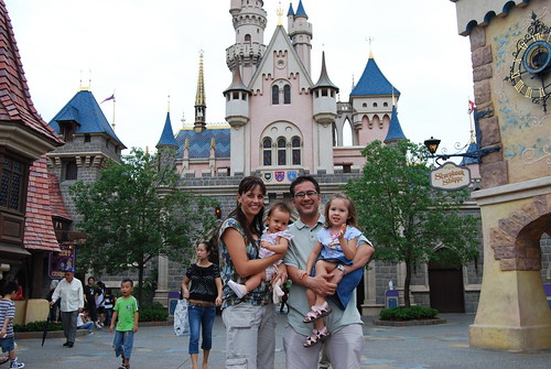 The Sawin Family - Hong Kong Disneyland