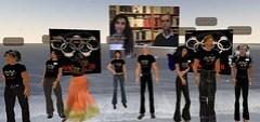 VisioConférence de RSF - Robert Ménard dans Second Life / Pékin 2008