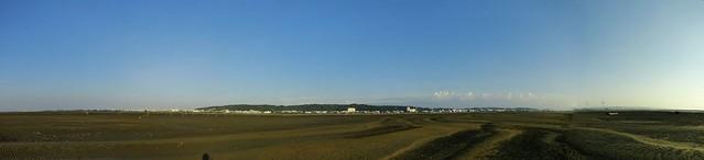 新竹海岸全景