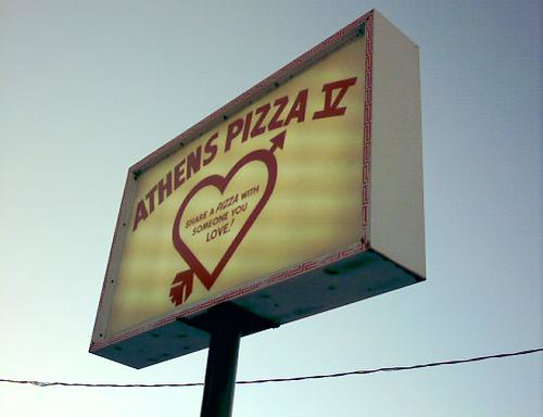 Share a pizza with someone you love