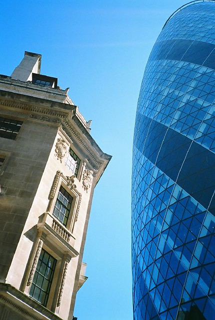 30 St. Mary Axe - Contrast Tone of London