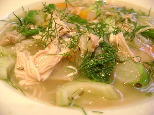 Chicken Soup with Fennel