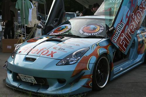 Firefox Sports Car