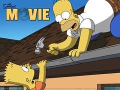 O amor entre pai e filho em Os Simpsons - Clique para baixar este wallpaper