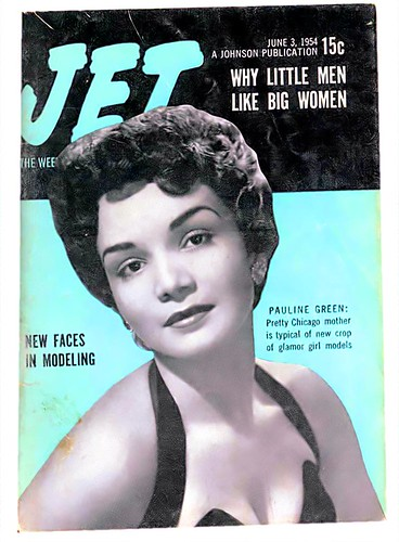 Why Little Men Like Big Women - Jet Magazine June 3, 1954 by vieilles_annonces.