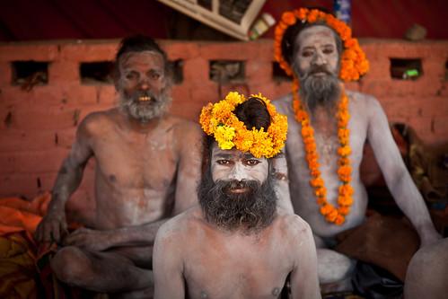 Naga babas, Juna Akhara, Haridwar