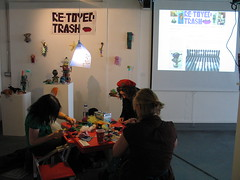 Workshop in the exhibition