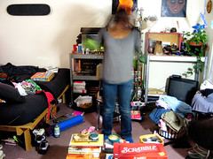 Day 60...my apartment is a flippin mess!!