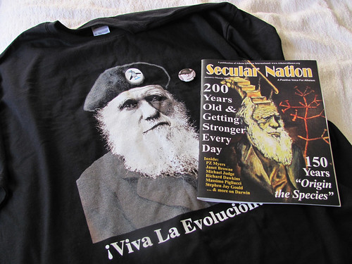 Darwin swag from Science Online 2011