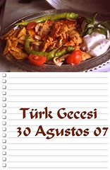 Türk Gecesi- Turkish Night