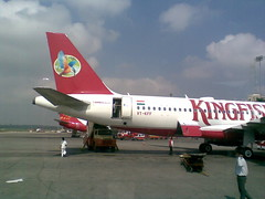 Kingfisher Airlines' VT-KFF: Airbus A320-200