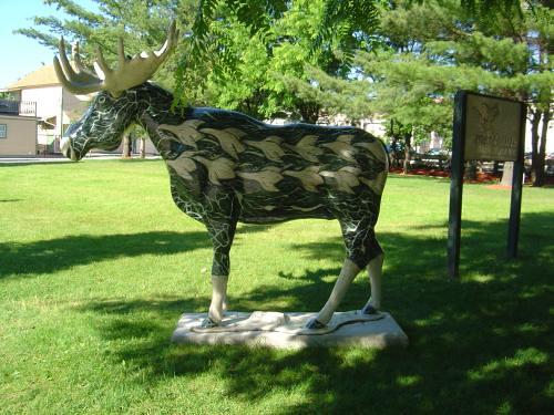 Escher-esque moose