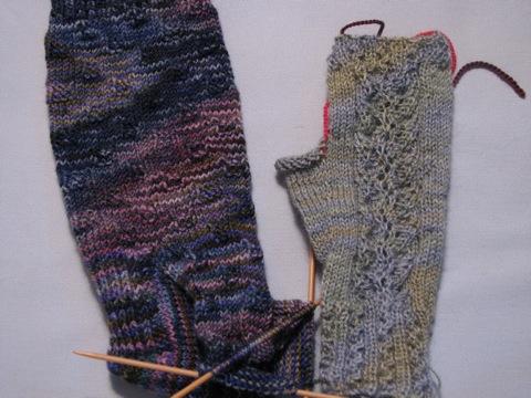 WitW sock and Delicato Mitt
