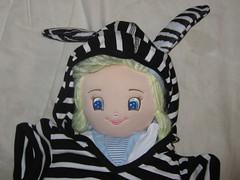 Zebra costume 1