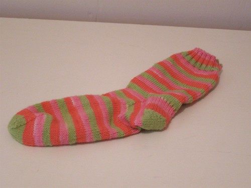 Waiting Room Sock #1, complete