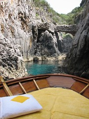 Our lunch spot by Capri