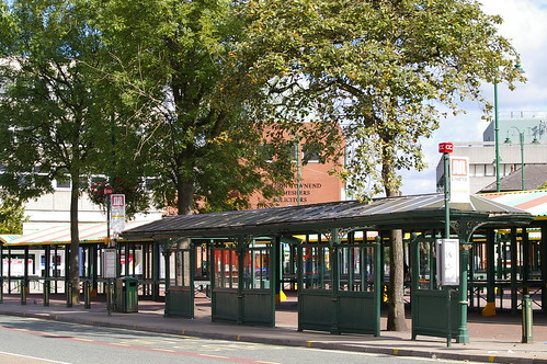 Hyde, Bus Shelter on Market Street
