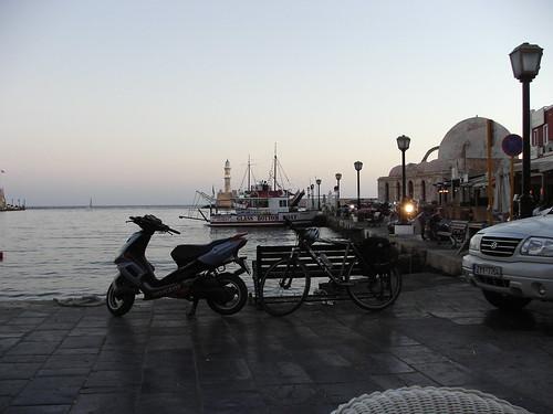My bike at Crete