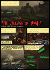 The Village of Nyght comic in Prim Perfect magazine