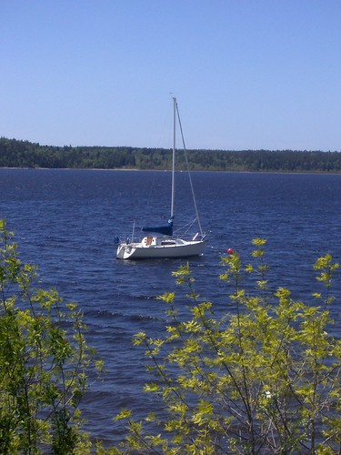 Kennebecasis River at Rothesay, NB, Canada