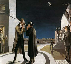 Delvaux, Paul  - The shape of the moon III  - 1942