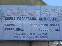 Copra factory