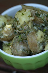 Salty Green Potato Salad