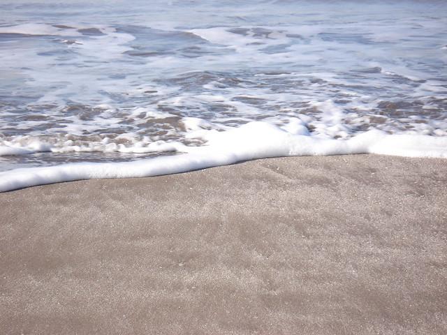 la espuma del mar