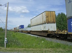 Trailer train hot shot