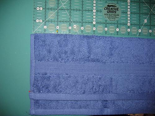 Hooded Towel Tut: Step3-