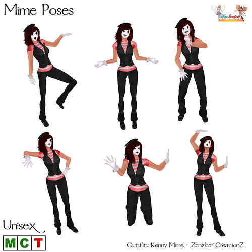 Mime Poses