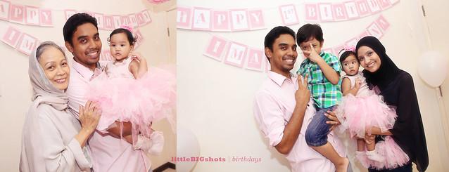 Iman Adreena's 1st Ballerina Birthday Party