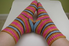 Yarntini Home plain stockinette sock