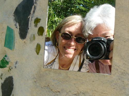 Chaumont-sur-Loire, with Sarah