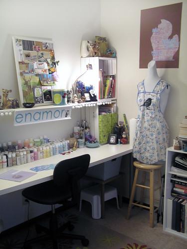 Studio- painting area