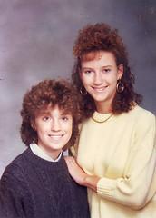 my 1980s mullet shame