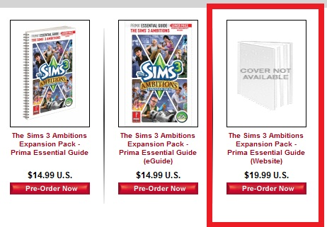 Prima to release 'The Sims 3 Ambitions' web guide