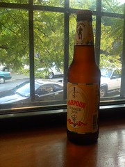 Harpoon Summer Beer in Window