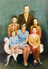 The Wood family, December 1970