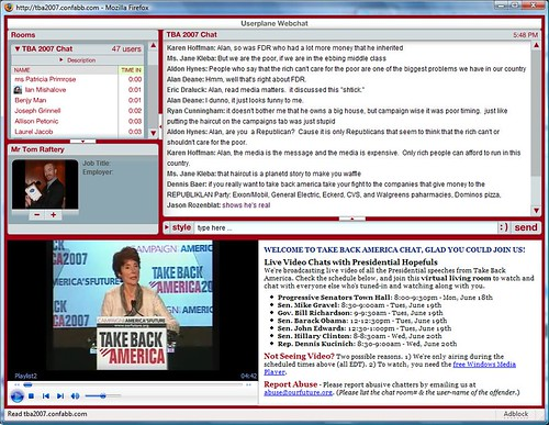 Take Back America live on Confabb.com